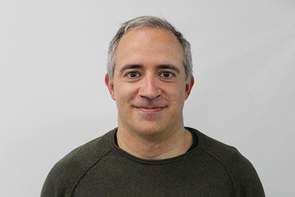 David Piñuela. Responsable del equipo de delineación