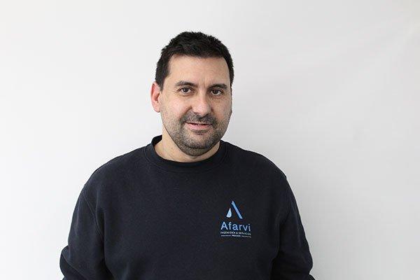 Luis Miguel Arroyo. Responsable del equipo de taller